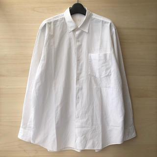 COMOLI - 17ss comoli コモリシャツ ホワイト サイズ2