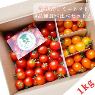 ミニトマト【農学博士のDr.トマトカロテンミックス1Kg】☘️〜青森津軽産〜(野菜)