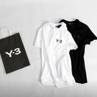 ワイスリー(Y-3)の新品未使用 Y-3  ブラック Tシャツ(Tシャツ/カットソー(半袖/袖なし))