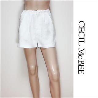 セシルマクビー(CECIL McBEE)のCECIL McBEE ツイード ショートパンツ♡リップサービス INGNI(ショートパンツ)
