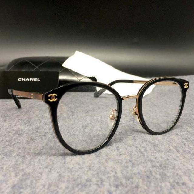 CHANEL(シャネル)のシャネル CHANEL 2132 メガネ フレーム サングラス ブラック レディースのファッション小物(サングラス/メガネ)の商品写真