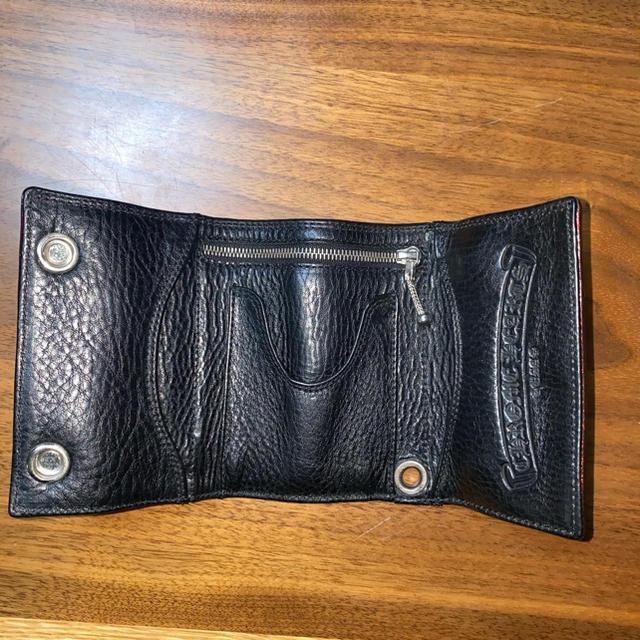 Chrome Hearts(クロムハーツ)のクロムハーツ 3fold wallet メンズのファッション小物(折り財布)の商品写真