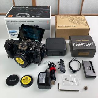 Canon - Bmpcc4k フリップスクリーン metabones ef Tilta