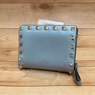 ヴァレンティノ(VALENTINO)の正規品【スタッズ 】VALENTINO 折り財布(財布)
