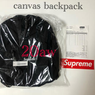 Supreme - Supreme 20aw canvas backpack