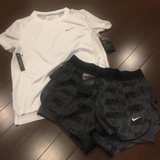 NIKE - セール ナイキ NIKE レディース セット 新品 上下 ジム パンツ シャツ
