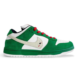 NIKE - US10.5 warren lotas green dunk ダンク カスタム