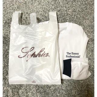 ワンエルディーケーセレクト(1LDK SELECT)のENNOY ビニール袋 SOPHIA レジ袋(Tシャツ/カットソー(半袖/袖なし))