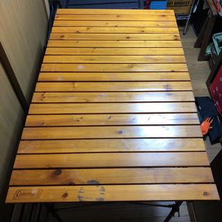 コールマン(Coleman)のコールマンナチュラルウッドロールテーブルクラシック110(テーブル/チェア)