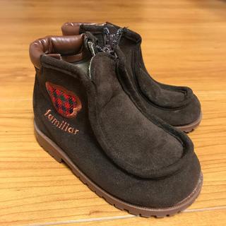 ファミリア(familiar)の美品 ファミリア ブーツ サイズ13.5センチ(ブーツ)