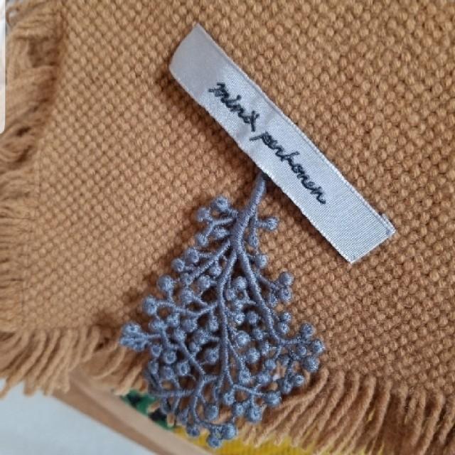 mina perhonen(ミナペルホネン)のミナペルホネン/ mouブランケット /forest paradeモチーフ  レディースのファッション小物(ストール/パシュミナ)の商品写真