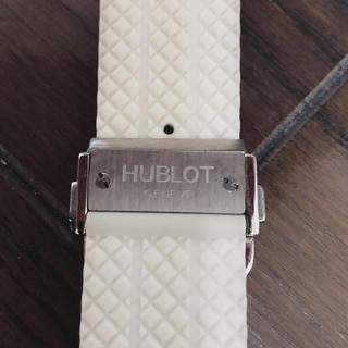 HUBLOT - 【HUBLOT✨】ビックバン 44mm 301用 純正 白ラバー ベルト
