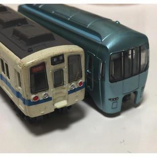 バンダイ(BANDAI)のBトレインショーティー ジャンク車両 2両(鉄道模型)