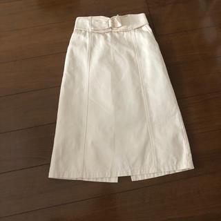 マジェスティックレゴン(MAJESTIC LEGON)のIラインデニムスカート(ロングスカート)