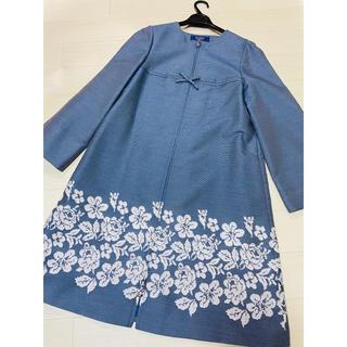 エムズグレイシー(M'S GRACY)の即完売♡エムズグレイシー♡豪華花刺繍コート 42(ノーカラージャケット)