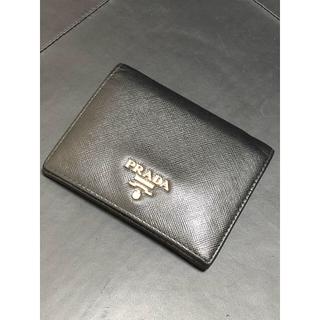 PRADA - ◇本物/正規品◇ PRADA プラダ サフィアーノ  二つ折り財布 コンパクト