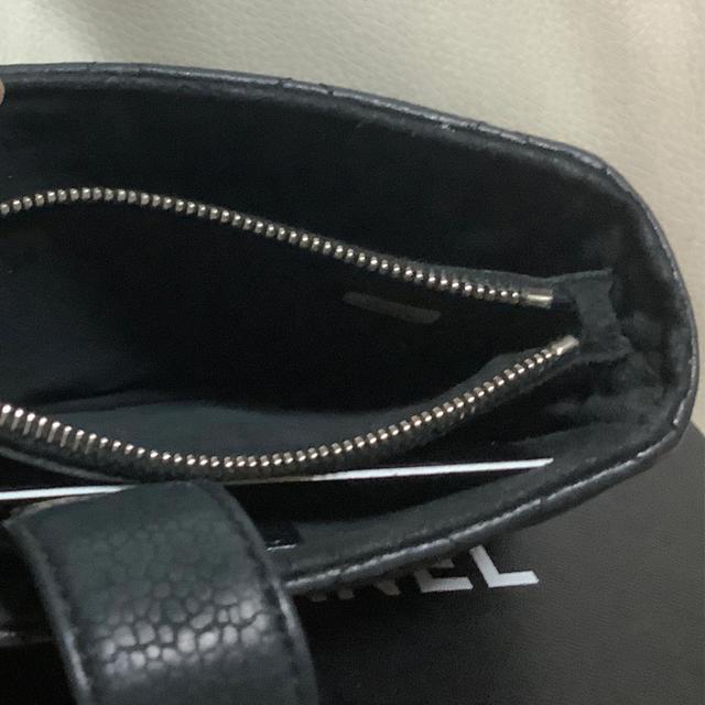 CHANEL(シャネル)のシャネル マトラッセ キャビアスキン ポーチ レディースのファッション小物(ポーチ)の商品写真