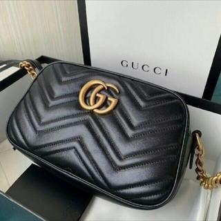 Gucci - GUCCI キルティングスモールショルダーバッグ