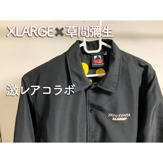 エクストララージ(XLARGE)のエクストララージ 草間彌生コラボ コーチジャケット(ナイロンジャケット)