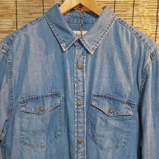 ギャップ(GAP)の古着 GAP 1969 スリムフィット デニムウエスタンシャツ L(シャツ)