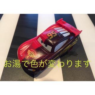 新品カーズ ミニカー マックイーン カラーチェンジャー 赤黒