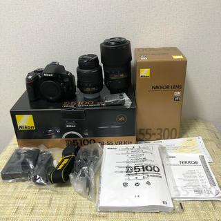 Nikon - NiKON D5100 ダブルズームキット