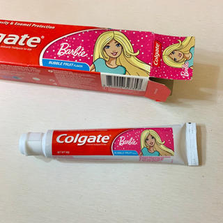 コルゲート Colgate バービー 歯磨き粉