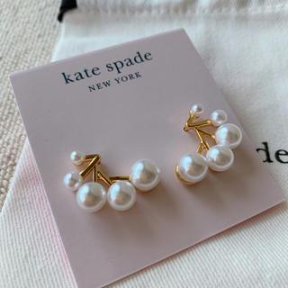 kate spade new york - 新品♡ケイトスペード パール ピアス