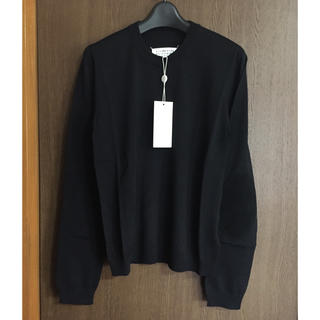 Maison Martin Margiela - 黒M新品 メゾン マルジェラ エルボーパッチ ニット セーター オールブラック