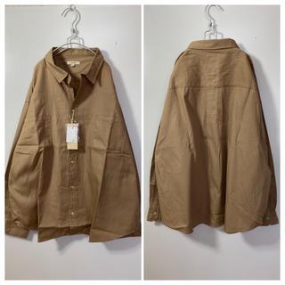 スタディオクリップ(STUDIO CLIP)の新品ビッグシルエットシャツ☆BIGシャツ☆オーバーサイズシャツ(シャツ/ブラウス(長袖/七分))