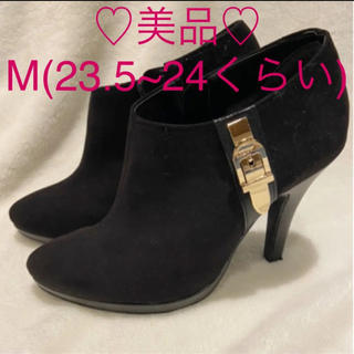 ESPERANZA - ♡美品♡エスペランサ ショートブーツ ブーティ 黒 23.5 24 M