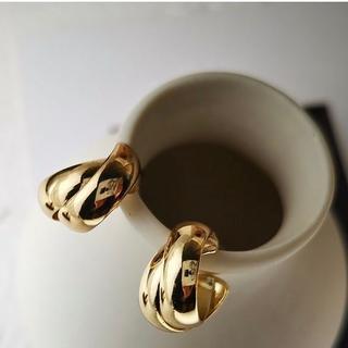 フリークスストア(FREAK'S STORE)の#591 import pierce : Refined gold(ピアス)