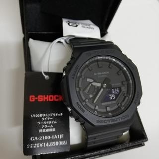 G-SHOCK - 新品未使用 CASIO G-SHOCK GA-2100-1A1JF gショック