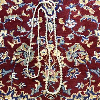 ジョンローレンスサリバン(JOHN LAWRENCE SULLIVAN)のVINTAGE long pearl necklace(ネックレス)