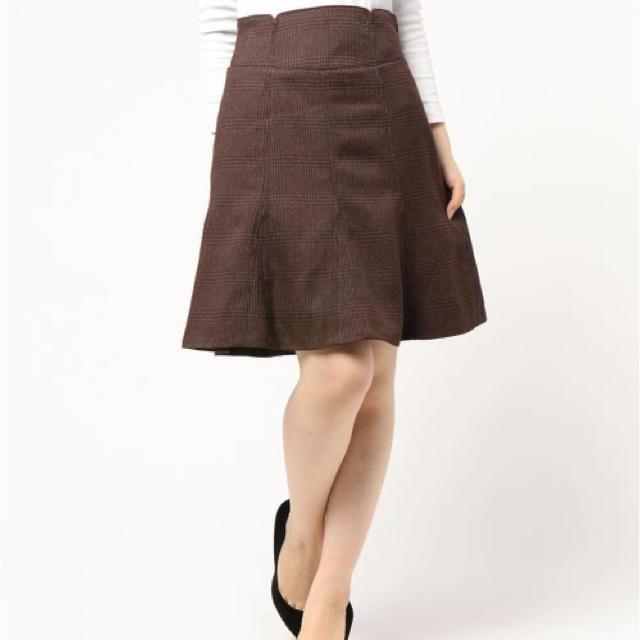 Rirandture(リランドチュール)のリランドチュールの前後2WAYマチフレアスカート  レディースのスカート(ひざ丈スカート)の商品写真