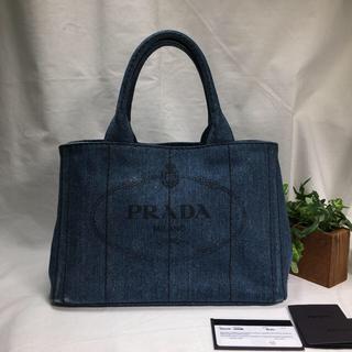 PRADA - 美品✨PRADA プラダ カナパ デニム