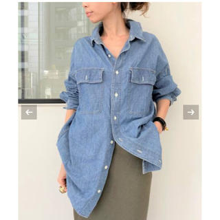 L'Appartement DEUXIEME CLASSE - L'Appartement  レミレリーフ Chambray シャツ