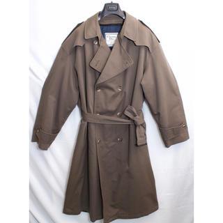 ディオール(Dior)の[未使用品] 90s ディオール Dior 高級 トレンチコート オーバーサイズ(トレンチコート)