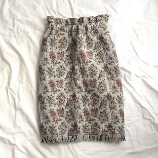 ドットアンドストライプスチャイルドウーマン(Dot&Stripes CHILDWOMAN)のゴブランスカート(ひざ丈スカート)