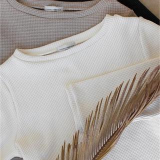 ルームサンマルロクコンテンポラリー(room306 CONTEMPORARY)のWaffle Long Sleeve Tops(Tシャツ/カットソー(七分/長袖))