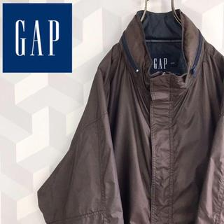 GAP - 【Old Gap】XL 90s ナイロンジャケット ブラウン 裏地付き