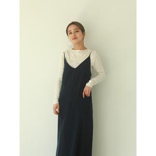 TODAYFUL - トゥデイフル  Leatherstrap Satin Dress 完売品