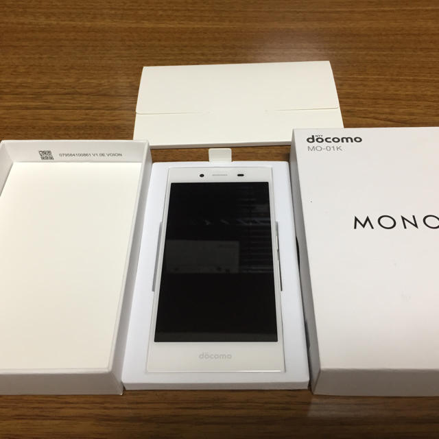 NTTdocomo(エヌティティドコモ)のdocomo mono 白ロム 美品 スマホ/家電/カメラのスマートフォン/携帯電話(スマートフォン本体)の商品写真