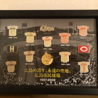 ヒロシマトウヨウカープ(広島東洋カープ)の広島カープ ユニフォーム記念ピンバッジ(記念品/関連グッズ)