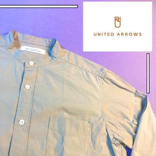 UNITED ARROWS - 【美品✨】バンドカラー シャツ united arrows