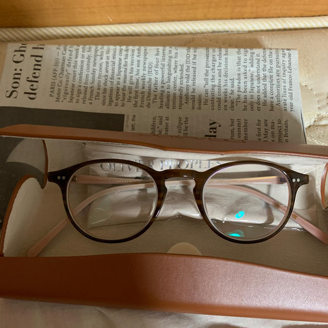 Ayame(アヤメ)のオリバーピープルズ 眼鏡 レディースのファッション小物(サングラス/メガネ)の商品写真