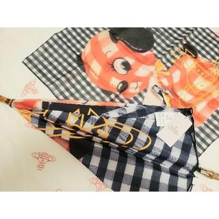 ヴィヴィアンウエストウッド(Vivienne Westwood)の🍁big様🍁専用ページです🐶ギンガムパピー2点セット🐶ヴィヴィアン(傘)