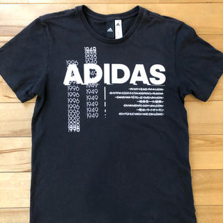 アディダス(adidas)のアディダス メンズTシャツ 黒 xs(Tシャツ/カットソー(半袖/袖なし))