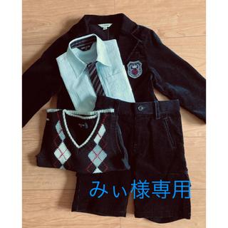 エニィファム(anyFAM)のフォーマル3点セット 90cm(ジャケット100cm)(ドレス/フォーマル)
