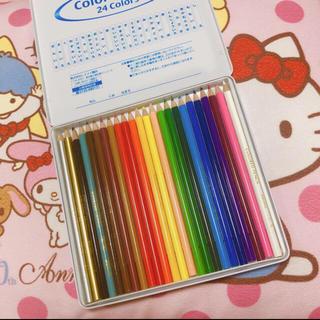 ミツビシエンピツ(三菱鉛筆)の色鉛筆(色鉛筆)